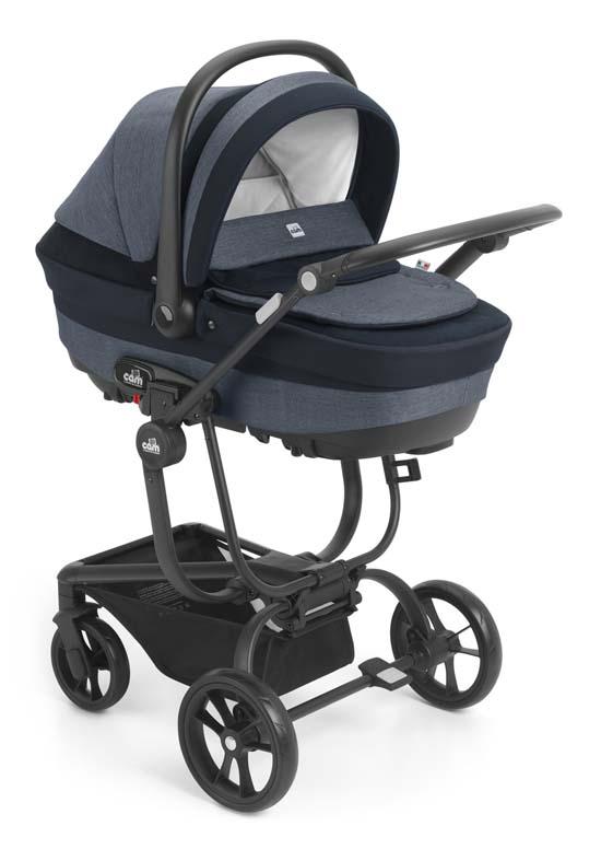 Πολυκαρότσι Cam Taski Fashion-793 βόλτα   ασφάλεια   μετακινηση με καροτσι   σύστημα μεταφοράς