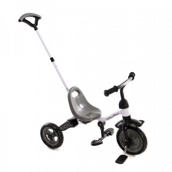 Kikka Boo Ποδήλατο Τρίκυκλο Wow me 2 in 1-Grey