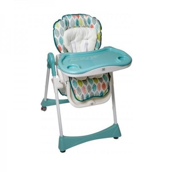 Kikka Boo Καρέκλα Φαγητού Retro Garden Leaves Blue
