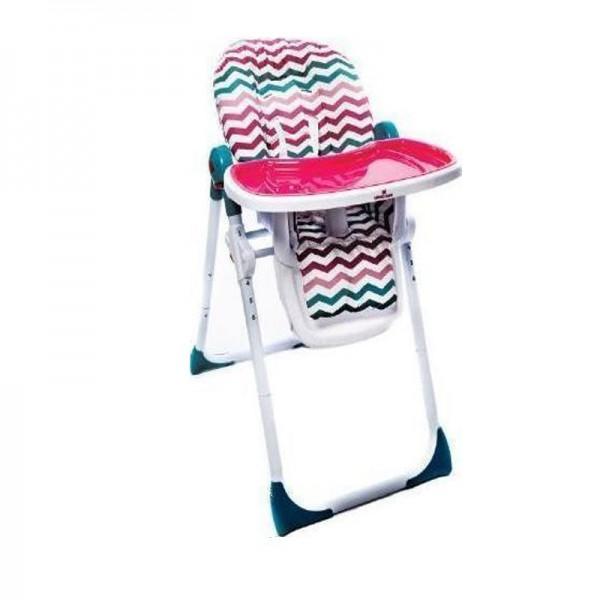 Kikka Boo Καρέκλα Φαγητού Zig-Zag Colors
