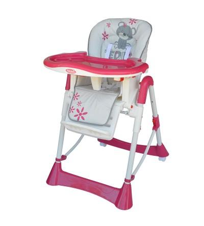 Καρεκλάκι Φαγητού Prince Pink Bebe Stars home   away   καρέκλα φαγητού