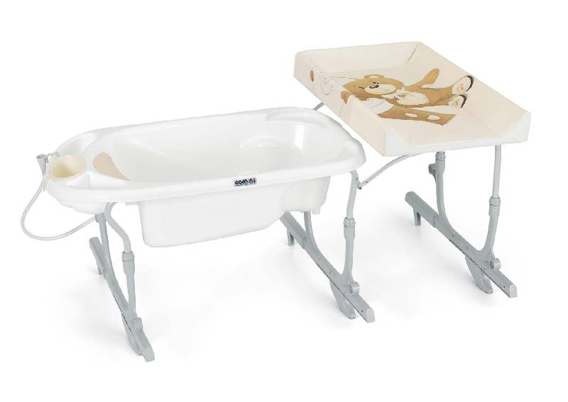 Μπανιέρα αλλαξιέρα Baby Estraibile Cam home   away   baby bath