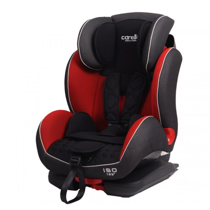 Κάθισμα Cocoon 123 Iso Fix Red Carello