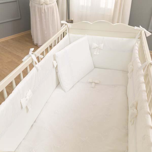 Σετ προίκας μωρού 3 τεμ. Premium White Funna Baby