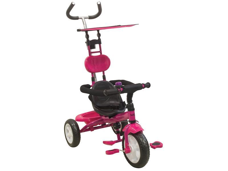 Tρίκυκλο ποδηλατάκι Smart JB-2510 Pink Just Baby βόλτα   ασφάλεια   ποδήλατα   τρίκυκλα ποδήλατα