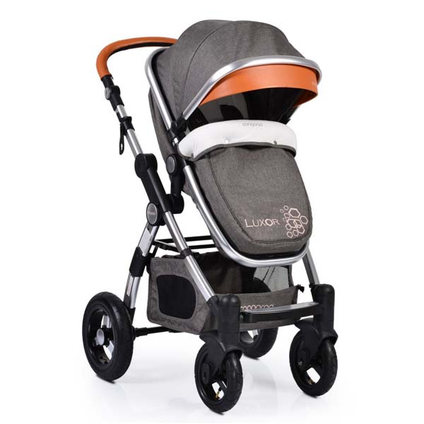 Καρότσι Luxor 2 in 1 Grey Cangaroo