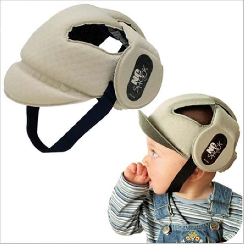 Καπέλο προστασίας No shock OK Baby - Beige home   away   αξεσουάρ ασφαλείας
