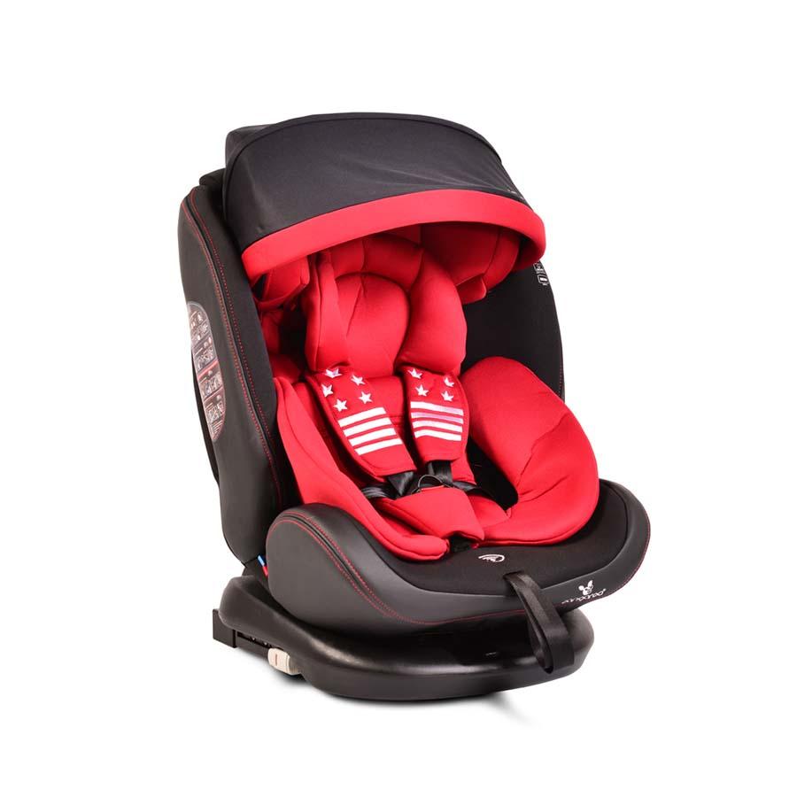 Κάθισμα Pilot 0-36kg IsoFix  Red Top Tether 360°Cangaroo
