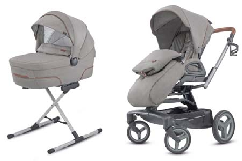 System Quad Duo Derby Grey Inglesina