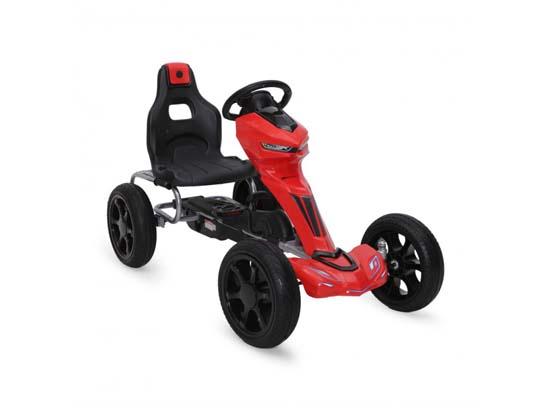 Παιδικό Αυτοκινητάκι με πετάλια Soft Wheels 1502 Red Cangaroo