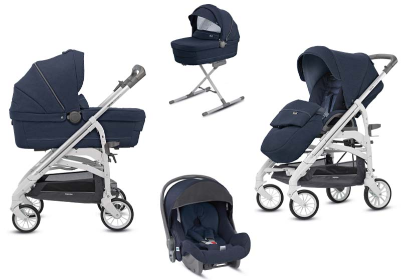 System Trilogy Quattro Imperial Blue Inglesina