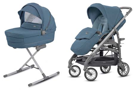 System Trilogy Duo Artic Blue Inglesina