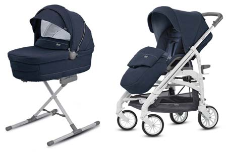 System Trilogy Duo Imperial Blue Inglesina