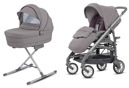 System Trilogy Duo Sideral Grey Inglesina