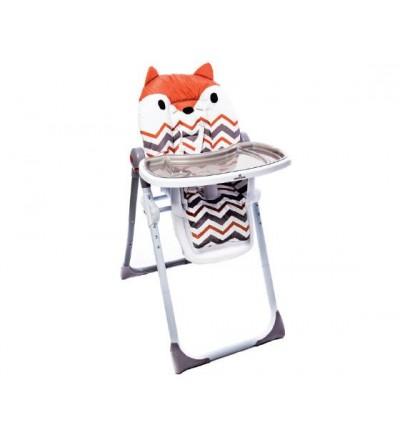 Kikka Boo Καρέκλα Φαγητού Zig-Zag Fox