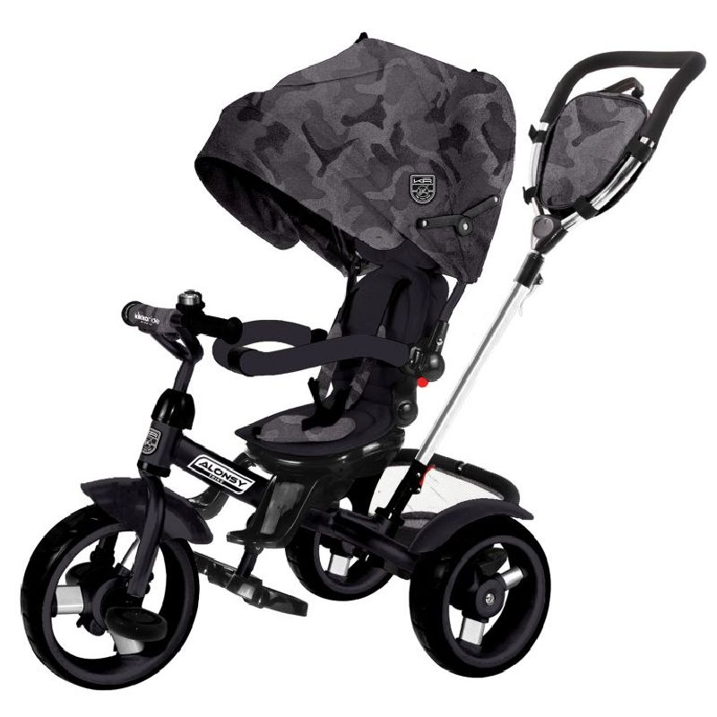Τρίκυκλο Ποδηλατάκι Alonsy 3 σε 1 Black Camouflage Kikkaboo