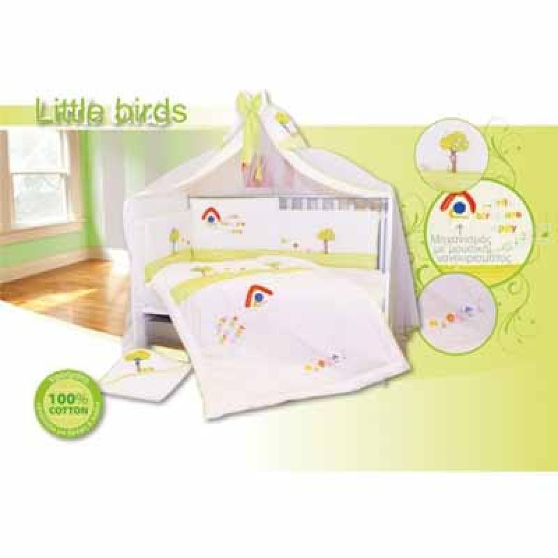 Προίκα Μωρού Little birds Bebe Stars home   away   λευκά είδη   λευκά είδη βρεφικά   σέτ προίκας μωρού
