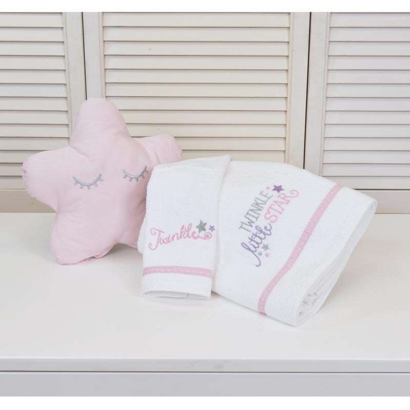 BABY OLIVER ΒΡΕΦΙΚΕΣ ΠΕΤΣΕΤΕΣ ΣΕΤ 2ΤΜΧ TWINKLE TWINKLE DESIGN 352 46-6760/352 30X50 70X140