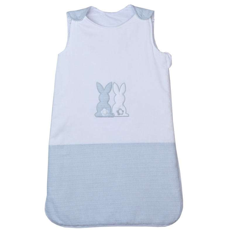 Baby Oliver βρεφικός υπνόσακος Αμάνικος Grey Bunny Design 356 46-6770/356