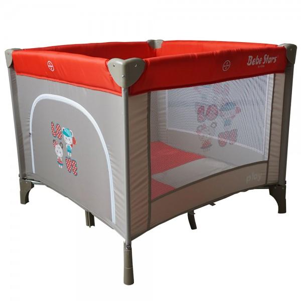 Παρκοκρέβατο Play Red Bebe Stars home   away   βρεφικά παρκοκρέβατα πάρκα μωρού