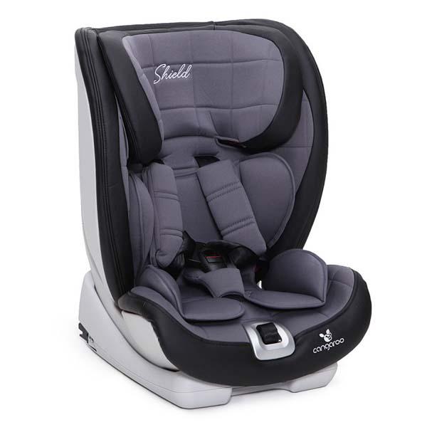 Cangaroo Shield ISOFIX Παιδικό Κάθισμα Ασφαλείας - Grey