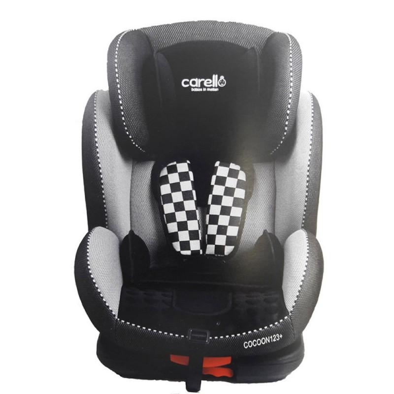 Κάθισμα Αυτοκινήτου Cocoon 123 Plus Black Grey Carello