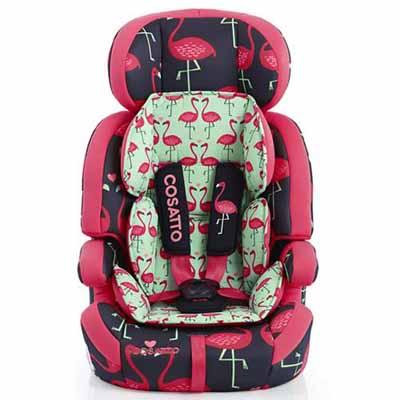 Κάθισμα Zoomi Cosatto - Flamingo Fling βόλτα   ασφάλεια   καθίσματα αυτοκινήτου   παιδικά καθίσματα αυτοκινήτου 9 εώς 3