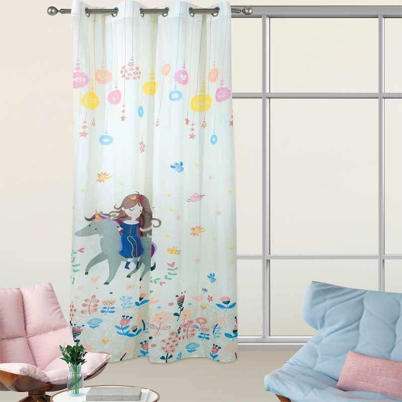 Das Home Παιδική Κουρτίνα με Κρίκους 2065 140X280