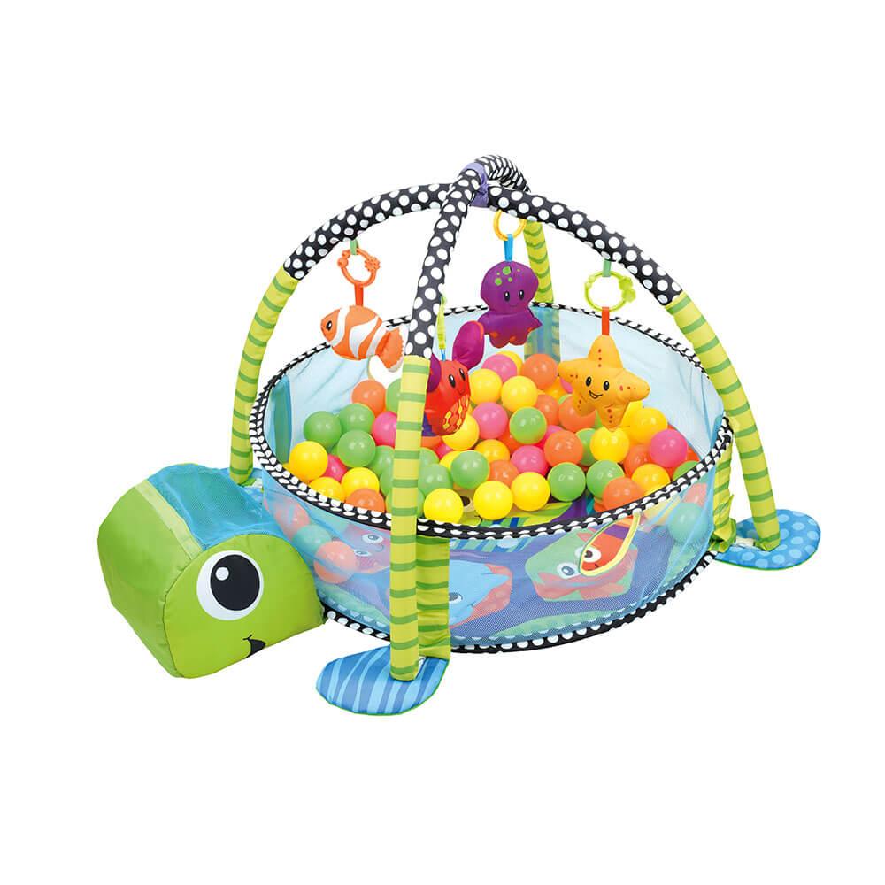 Εκπαιδευτικό γυμναστήριο – Πάρκο δραστηριοτήτων Turtle 100-160 Bebe Stars
