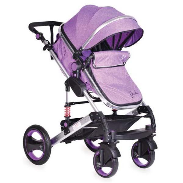 Παιδικό Καρότσι Πολυμορφικό 2 σε 1 Gala Purple Cangaro