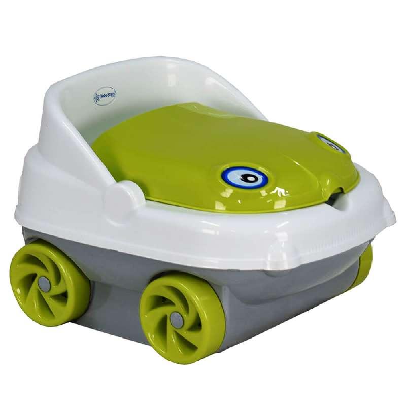 Γιογιό Κάθισμα Musical Car 73-174 Green Bebe Stars