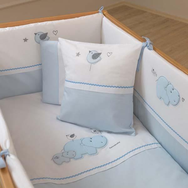 Προίκα μωρού 6 τμχ. Hippo Funna Baby home   away   λευκά είδη   λευκά είδη βρεφικά   σέτ προίκας μωρού