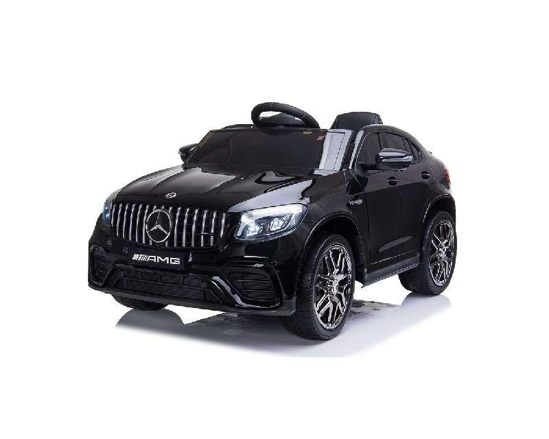 Ηλεκτροκίνητο Αυτοκίνητο 12V Mercedes-AMG GLC 63s Eva Wheels Black Cangaroo