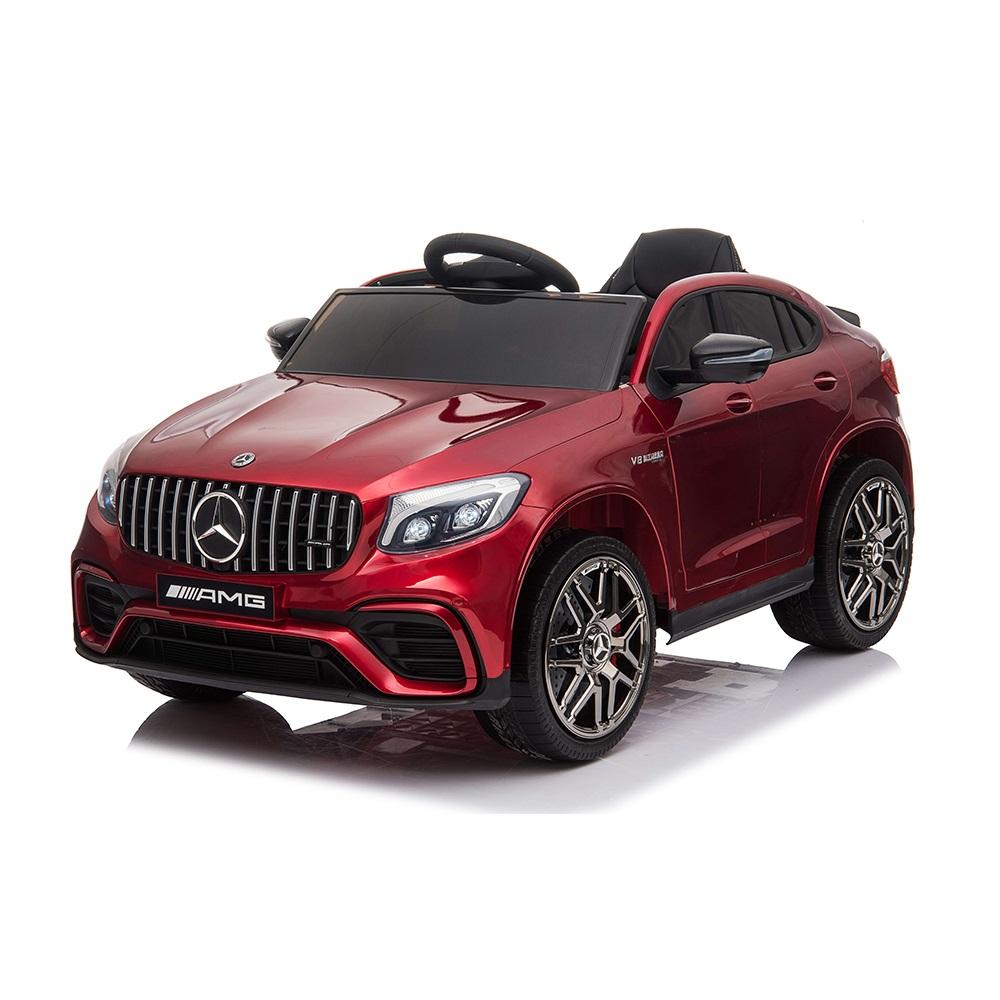 Ηλεκτροκίνητο Αυτοκίνητο 12V Mercedes-AMG GLC 63s Eva Wheels red Cangaroo