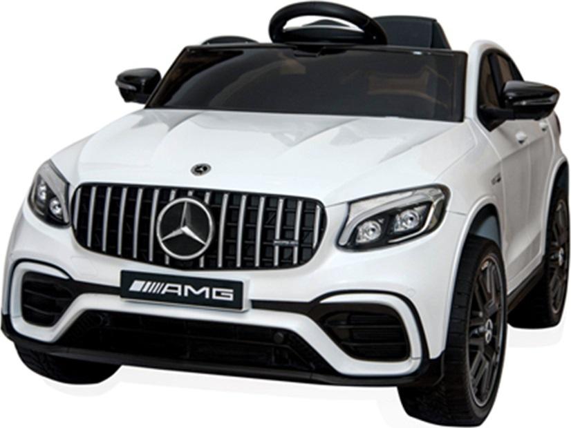 Ηλεκτροκίνητο Αυτοκίνητο 12V Mercedes-AMG GLC 63s Eva Wheels White Cangaroo