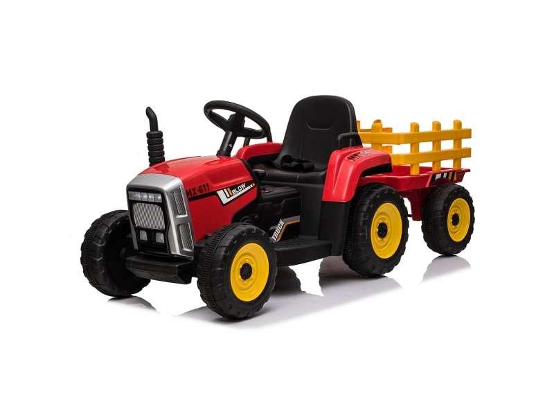 Ηλεκτροκίνητο Τρακτέρ 12V Farmer Red Moni