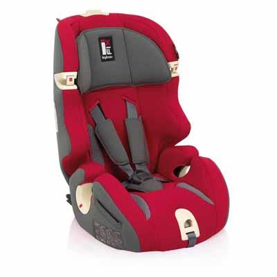 Inglesina Παιδικό Κάθισμα Prime Miglia Red I-FIX Inglesina βόλτα   ασφάλεια   καθίσματα αυτοκινήτου   παιδικά καθίσματα αυτοκινήτου 9 εώς 3