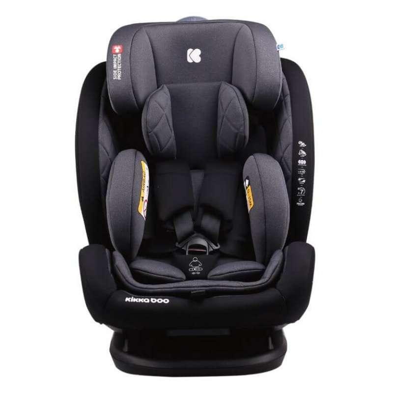 Κάθισμα Αυτοκινήτου Multistage 0-36kg Isofix Black Kikka Boo