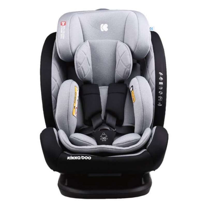 Κάθισμα Αυτοκινήτου Multistage 0-36kg Isofix Light Grey Kikka Boo