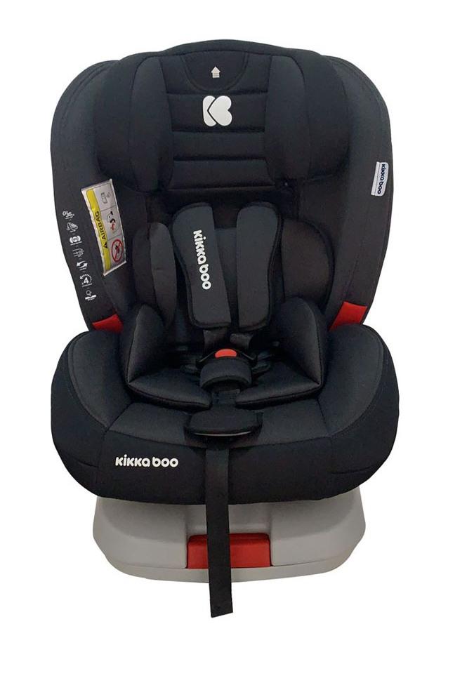 Κάθισμα Aυτοκινήτου Kikka Boo 0-36kg 4 Strong Isofix Grey