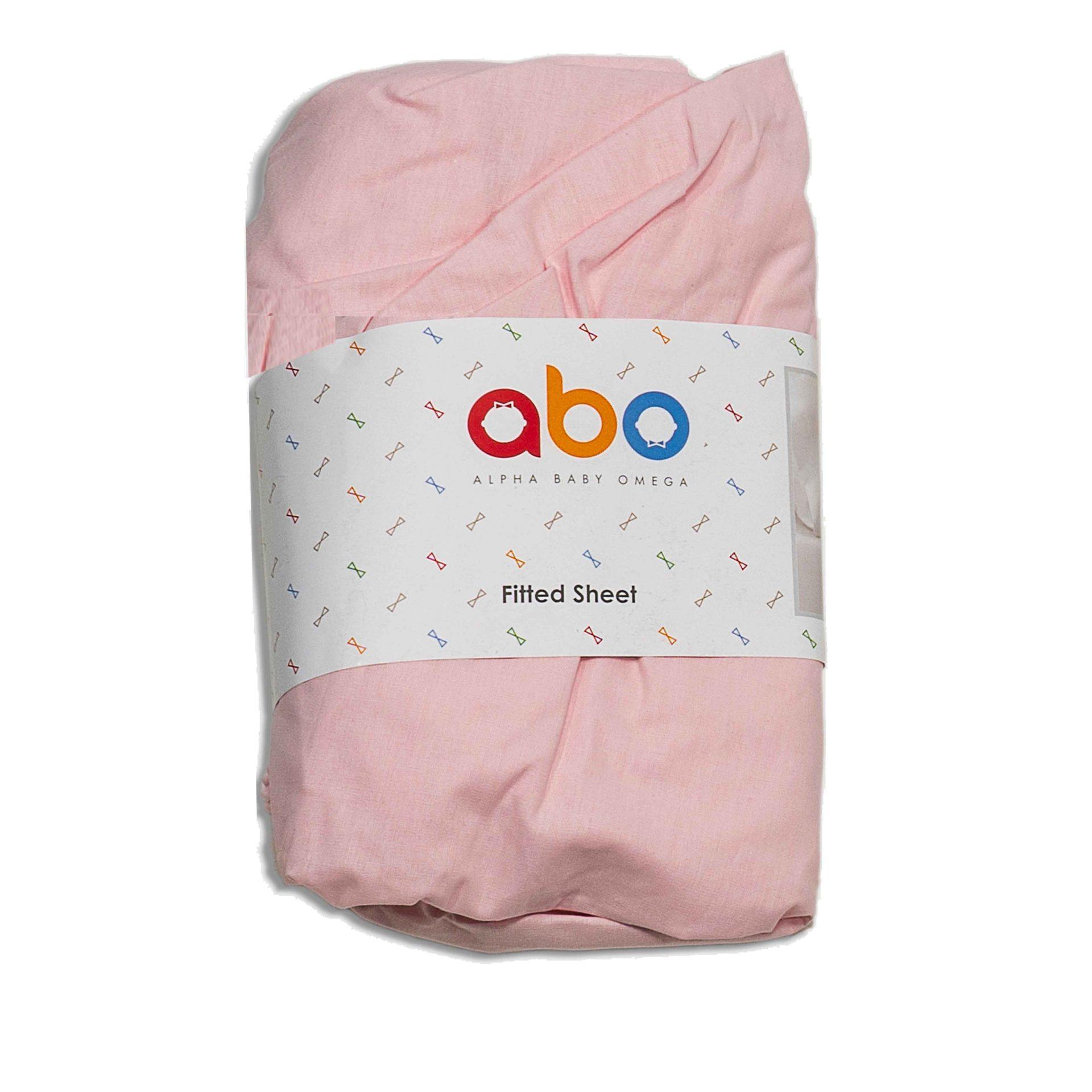 Κατωσέντονο ροζ Abo