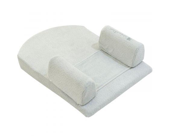 Memory foam sleep Βρεφικό μαξιλάρι με θέση τοποθέτησης ύπνου Mint Velvet 51X36 Kikka boo