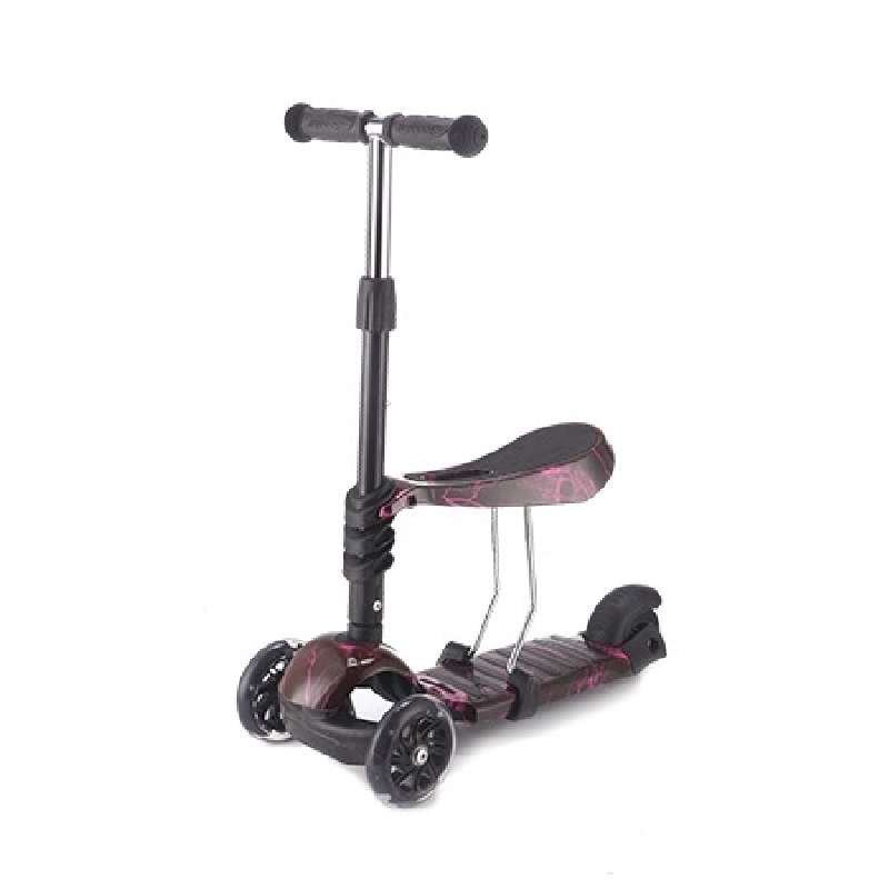 Kikkaboo Scooter 3 in 1 Ride and Skate Thunder