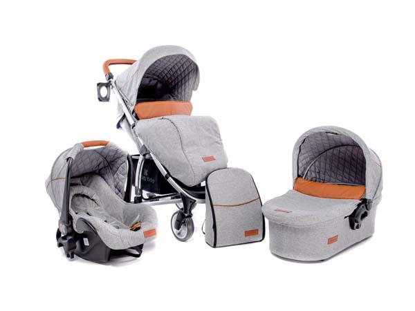 Παιδικό Καρότσι Kikkaboo Madrid 3 σε 1 - Πολυμορφικό Σύστημα Μεταφοράς 110114 -  βόλτα   ασφάλεια   μετακινηση με καροτσι   σύστημα μεταφοράς