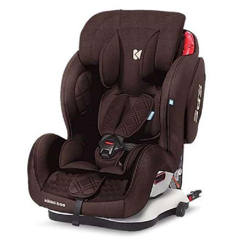 Kikkaboo Major 9-36 kg ISOFIX Παιδικό Κάθισμα Αυτοκινήτου - Brown