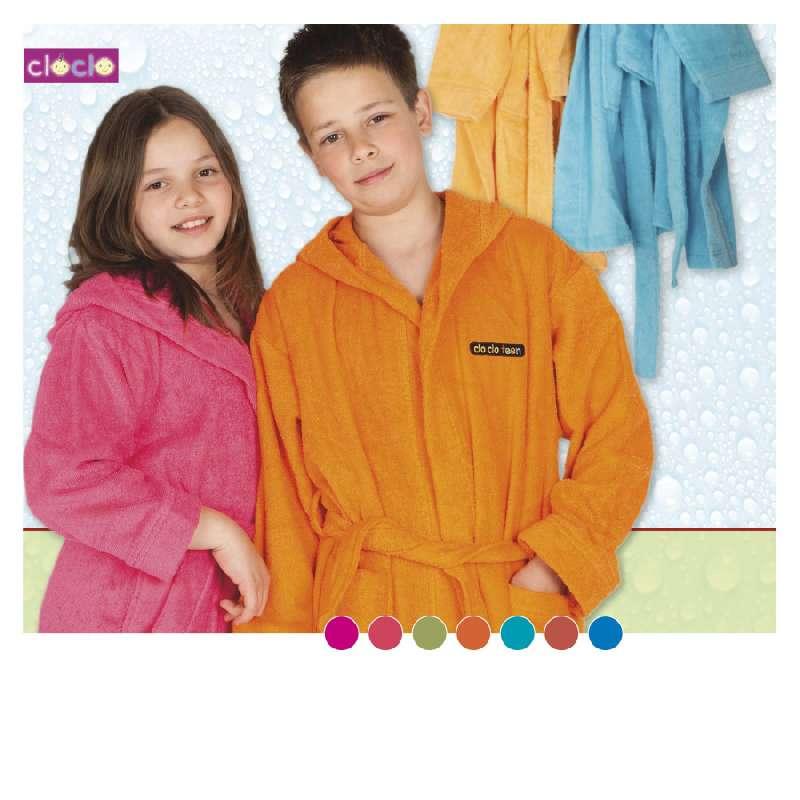 Klotsotiras Παιδικό Μπουρνούζι CloClo Μέγεθος 8 Ετων Orange