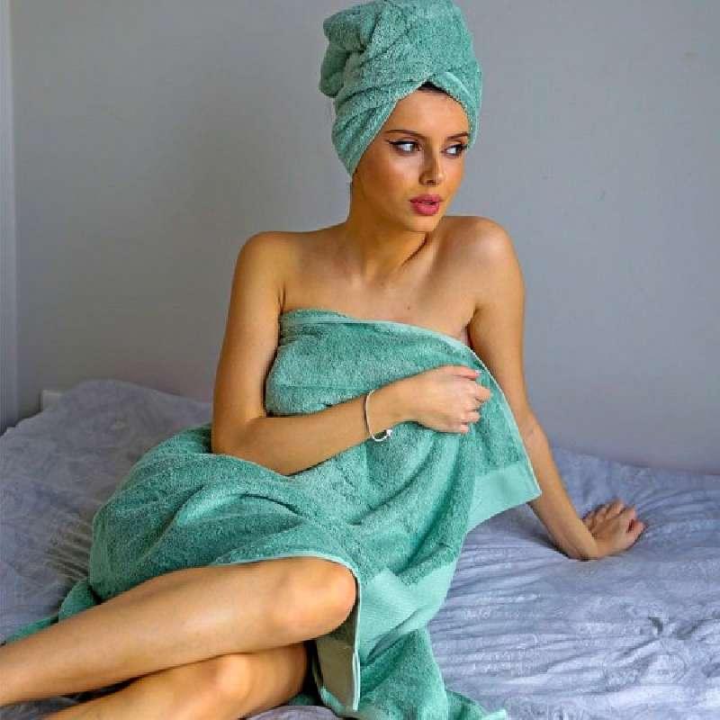Klotsotiras Βρεφικές Πετσέτες De Lux Μονόχρωμες 90X150