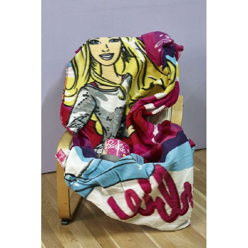 klotsotiras Βρεφική κoυβέρτα κούνιας Barbie 120X150