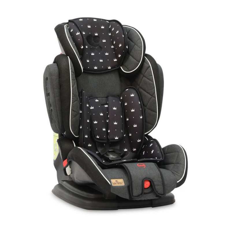 Lorelli Παιδικό κάθισμα αυτοκινήτου Magic Sps9-36kg Black Crowns