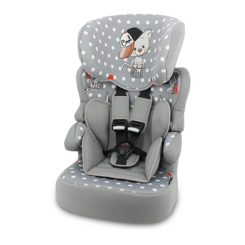 Lorelli Παιδικό κάθισμα αυτοκινήτου X-Drive Plus 9-36kg Grey Cool Cat